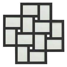 Multi Collage Black or White Large Wooden Photo Frame Holds 12 6x4 Inch Images