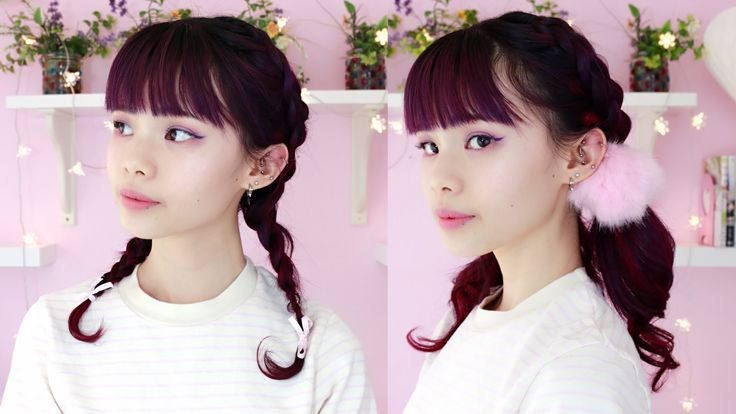2 Ways to Wear French Braid Pigtails with Extensions