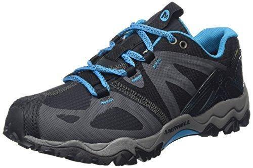 Oferta: 85€. Comprar Ofertas de Merrell grassbow SPORT GTX - Zapatos de senderismo de material sintético mujer, color negro (Black/Light Blue), talla 40 barato. ¡Mira las ofertas!