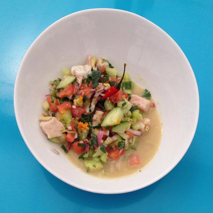 Ceviche Recipe. CLICK TO WATCH: https://youtu.be/874ffnZDXtc?t=18m46s #CevicheRecipe