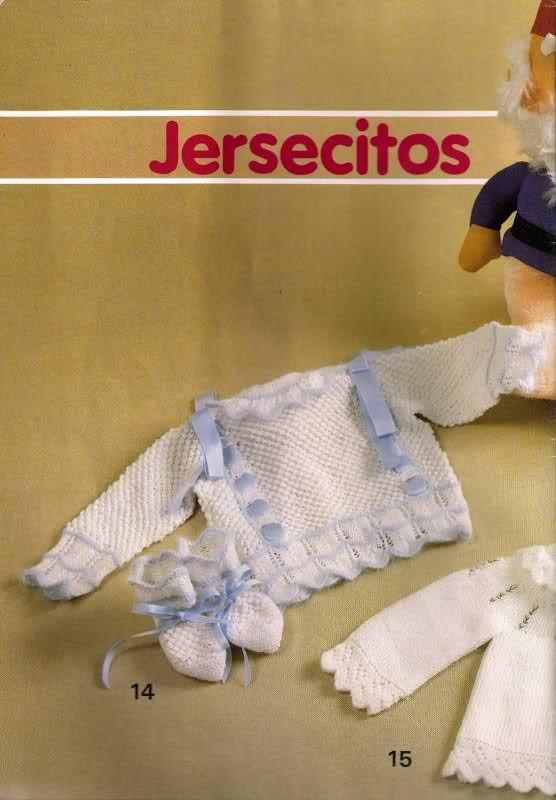 Chambritas para bebés (patrones para Cony)