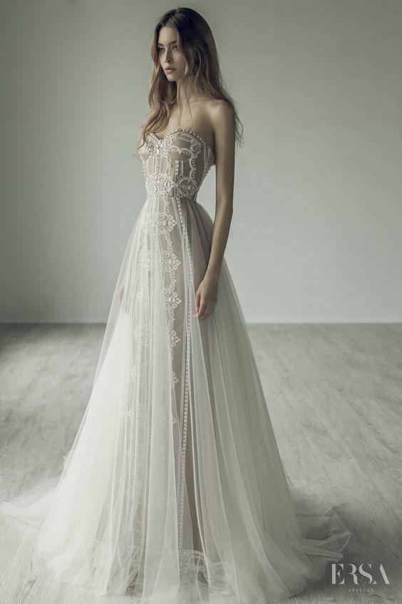 Featured Wedding Dress: Ersa Atelier; www.ersaatelier.com; Wedding dress idea.