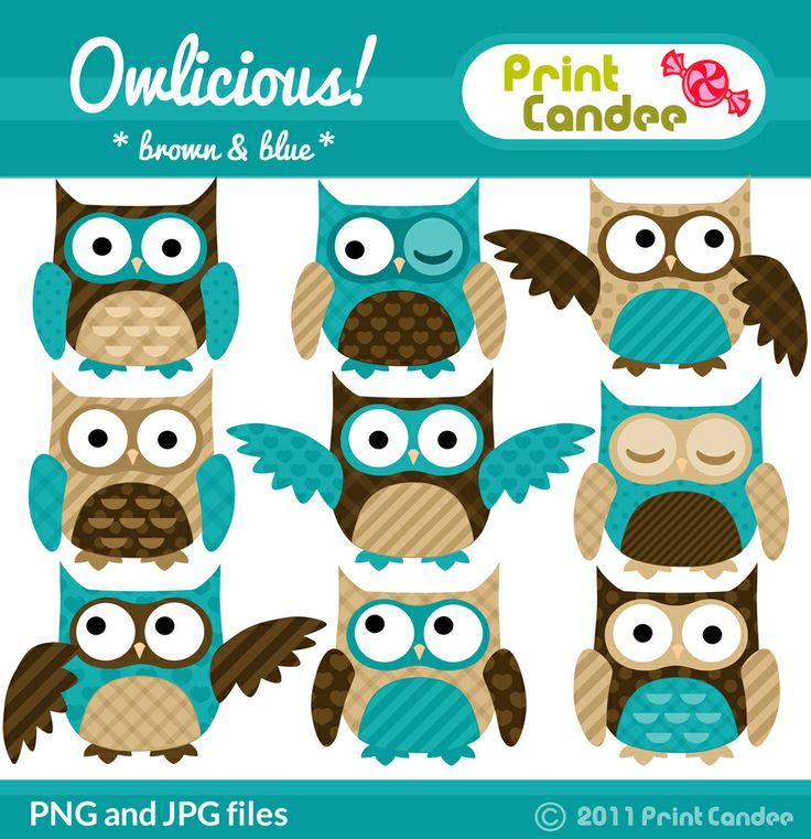 Free Owl Printables   Fabulous Fun Finds: Print Candee Free Printable--YOUR CHOICE!!