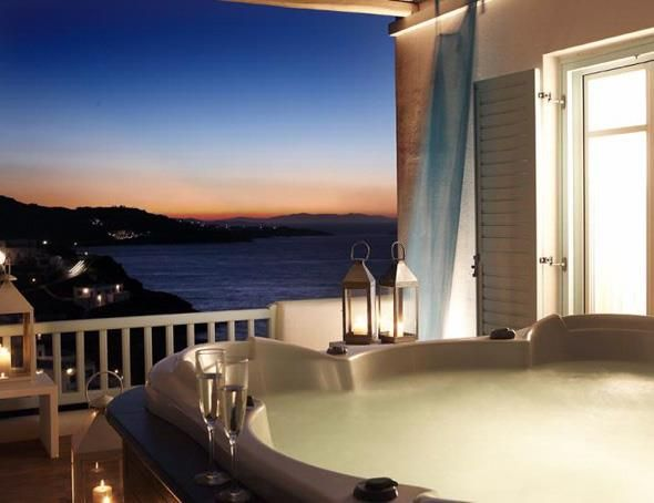 Jaccuzi with a view