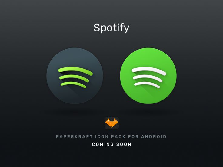 Spotify for Android Icon