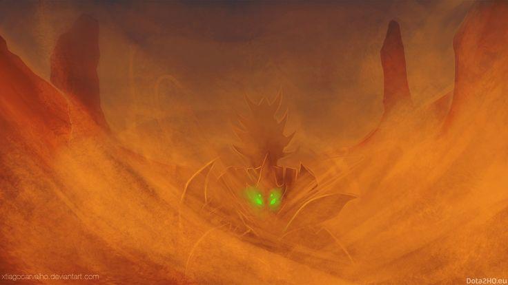 1600x900 sand king #dota 2 wallpaper
