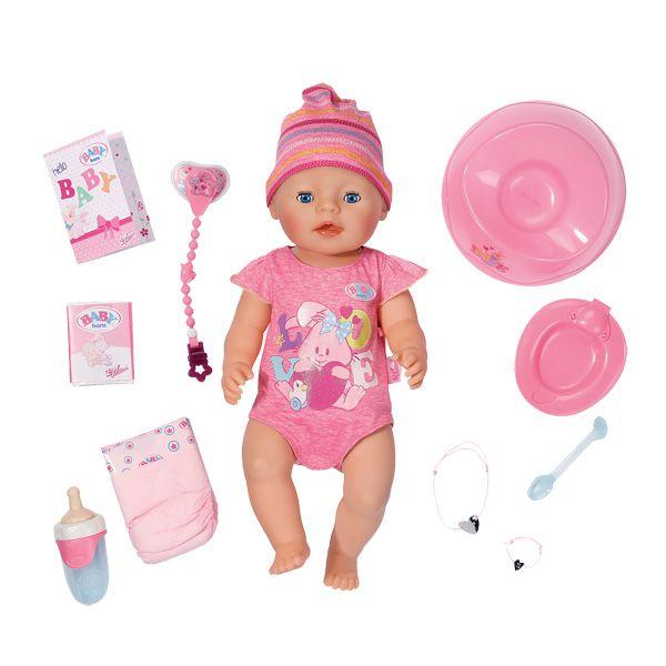 Poupon Interactif Fille 50 cm - Baby Born
