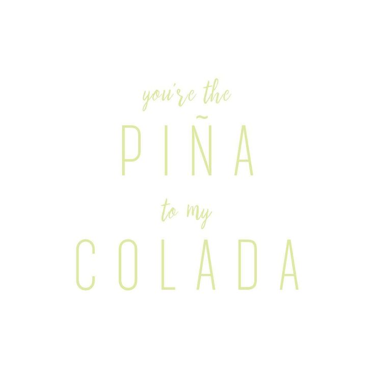 You're the piña to my colada... yes, we're talking to you! Thanks for supporting #atropico 🍹🌴