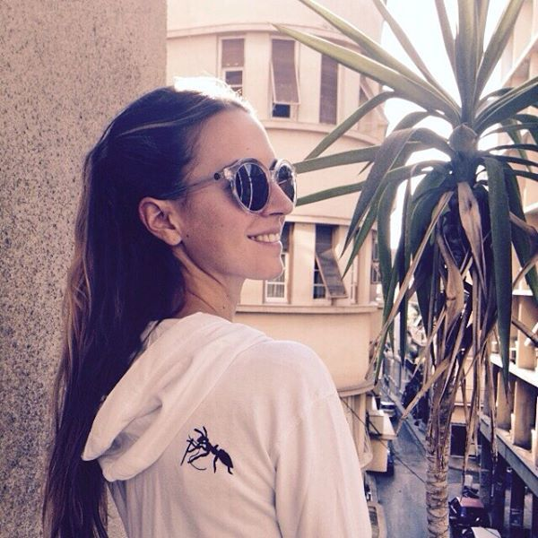 Hoodie by WCH & Sunglasses by D'Blanc