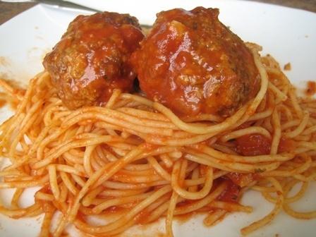 Spaghetti and Meatballs. This just looks sooooo good!!!
