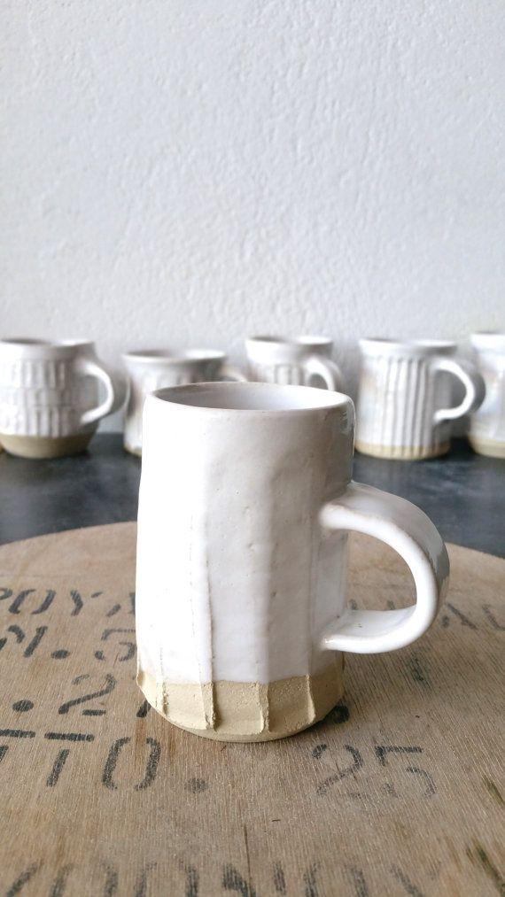 White Mug Ceramics Lera