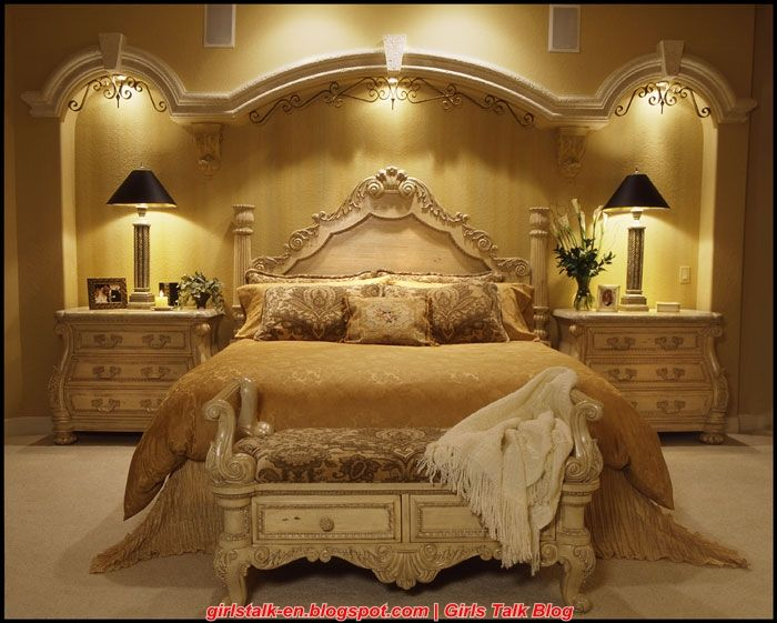 Most beautiful bedrooms