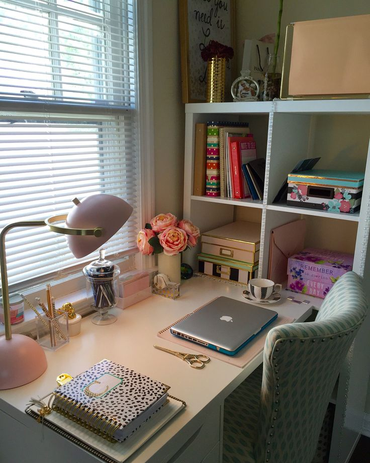 Home Office Ideas, Day Designer, Ikea Hack, Home Goods Finds.