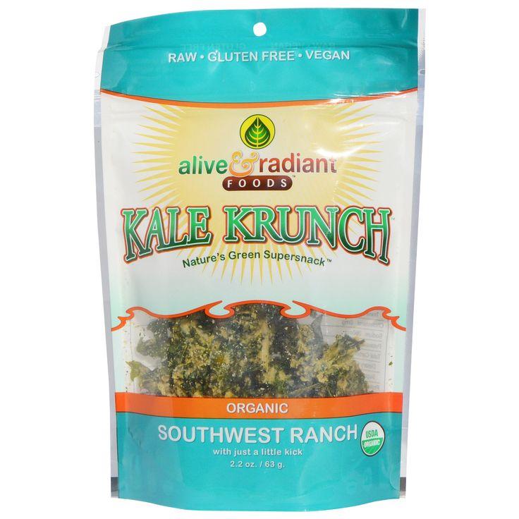 Alive & Radiant Organic Kale Krunch Southwest Ranch