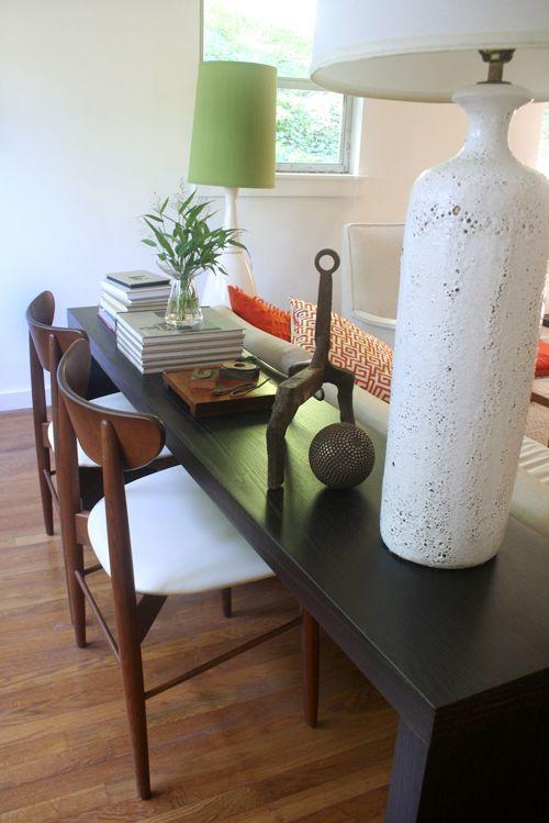 Christine And Owen S Atlanta Modern Design Sofa Living Room Table