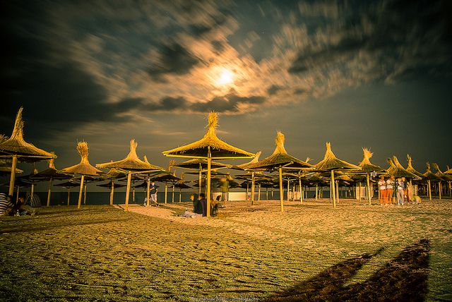 Vama Veche Beach at Night - Romania