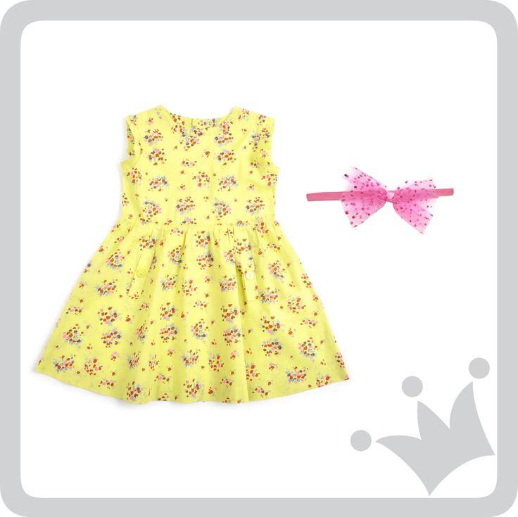 Para las mamás que quieren ver a sus hijas con un vestido lindo, cómodo y colorido, este es nuestro recomendado.