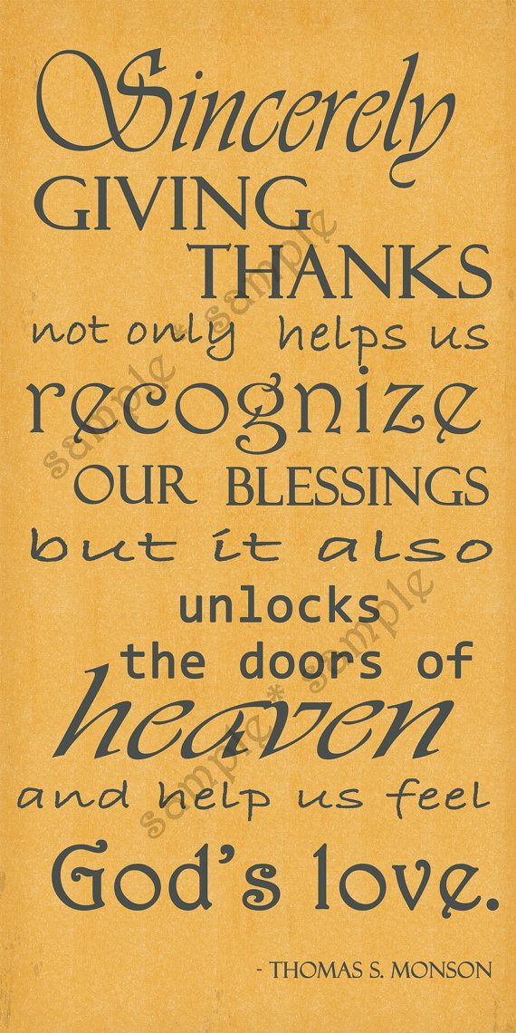 Giving Thanks Quotes And Sayings: Inspirational Quote
