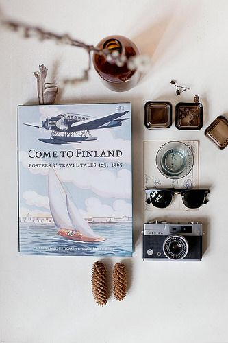 Styling and photography for http://shop.cometofinland.fi/ #vintageposters #finland