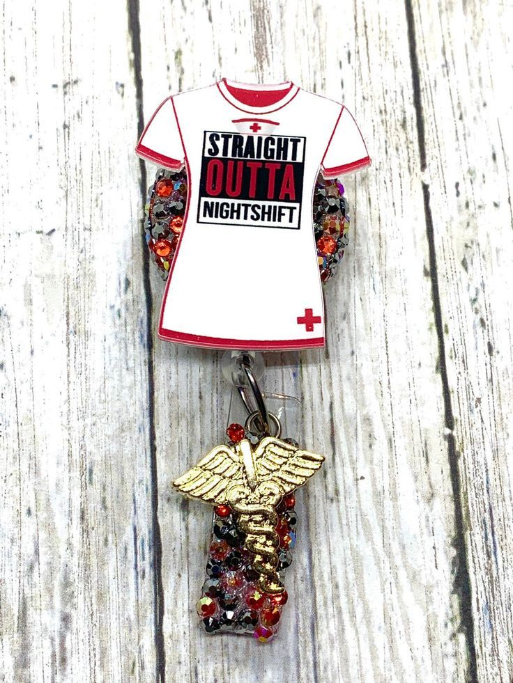 Details about  /Batman Batgirl Bat Nurse Night shift nurse work Id retractable reel badge Rn Lpn