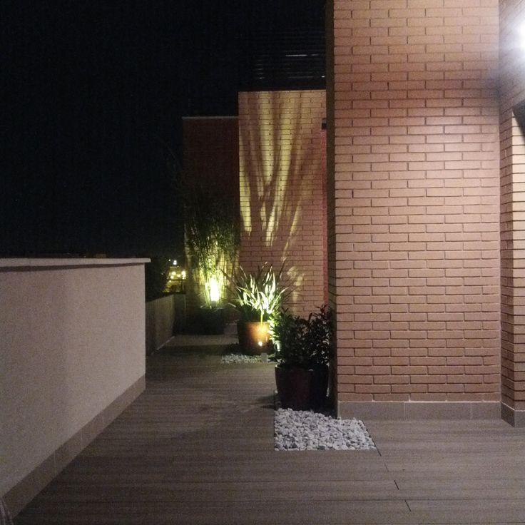 iluminacin para jardin