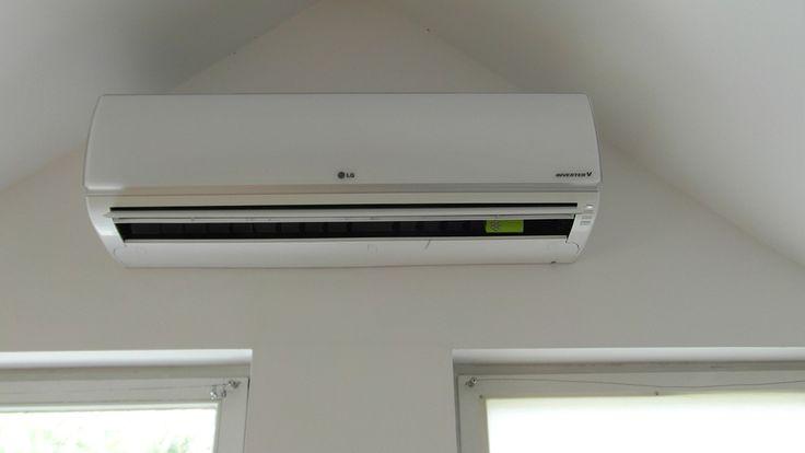 Klimatyzator firmy Lg, montaż w domu jednorodzinnym