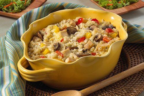 Chicken and Rice Casserole  Recipe submitted by the DaVita renal dietitian team.