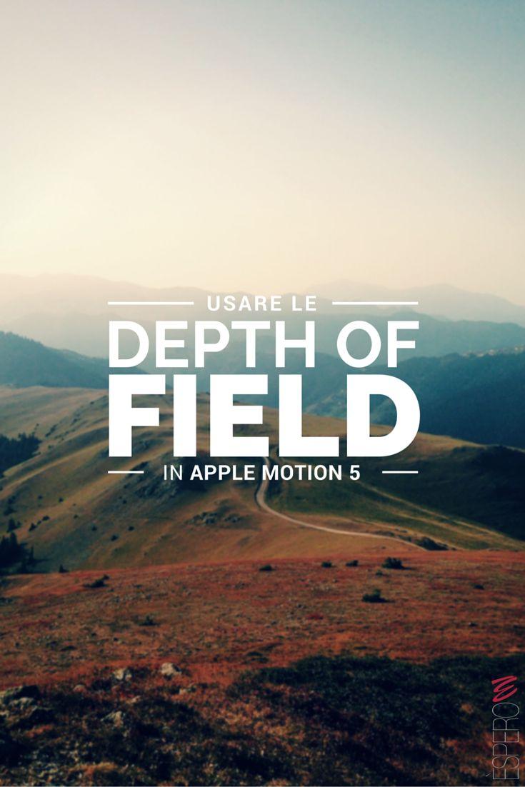 Giorgio Lovecchio ci spiega come usare le Depth of Field in Apple Motion 5. Clicca qui per iscriverti subito al corso Apple Motion 5 da noi: http://www.espero.it/corsi-apple-pro/motion?utm_source=pinterest&utm_medium=pin&utm_campaign=VideoVanguards