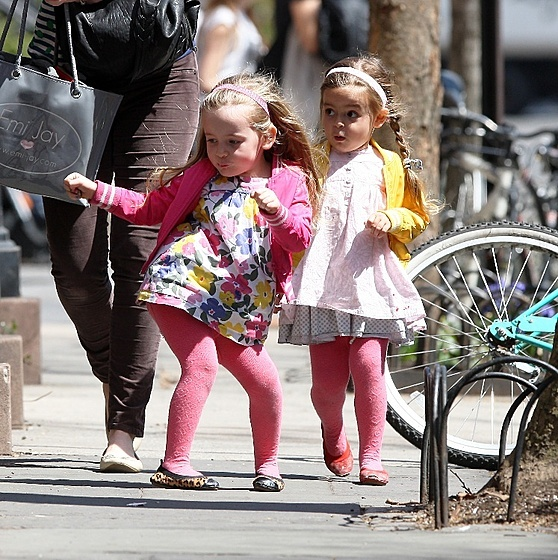 The daughter of Sarah Jessica Parker - Marion and Tabitha