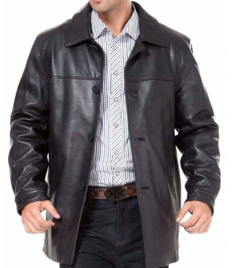 A Leather Car Coat Is A Great Winter Choice. #Peacoat #MotorcycleJacket #Perfecto #Fashion #DoubleRider #CafeRacer # At Eagle Ages we love Motorcycle Jacket. You can find a great choice of  Vintage & Second hands Motorcycle Jacket in our store.  https://eagleages.com/coats-jackets/men-coats-jackets/coats-blazers.html
