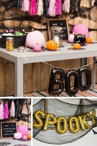Halloween Birthday Party Ideas October Celebration