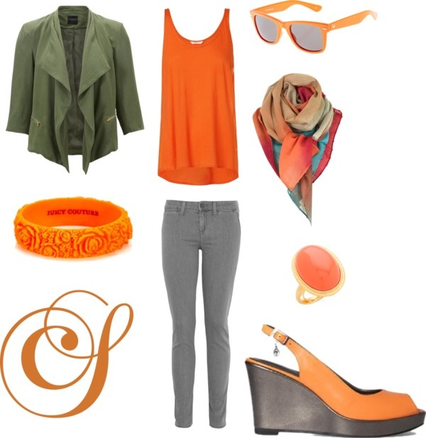 """""""Outfit Oranje"""" by colettesol on Polyvore"""