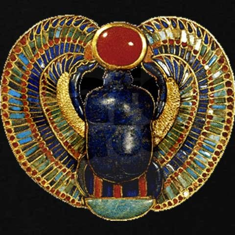 Sacred Beetle Ancient Egyptian Interiors Pinterest