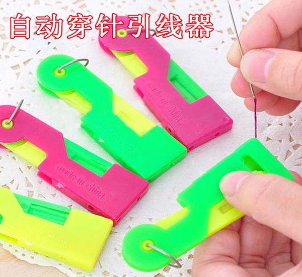 Pato de plástico aguja threaders