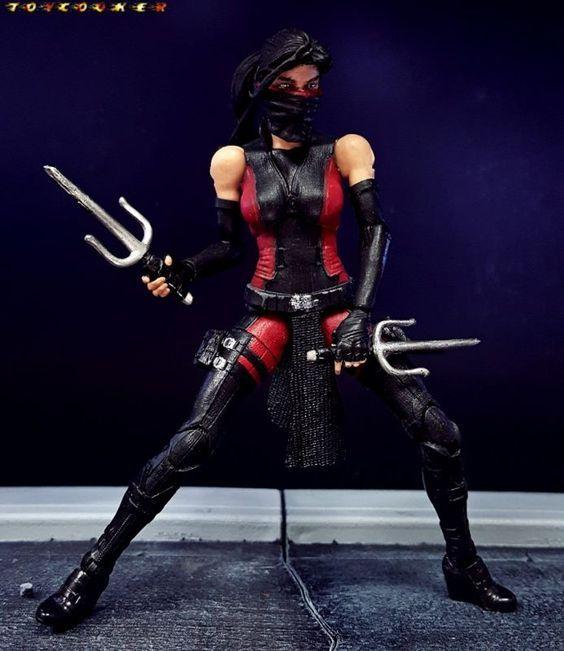 Elektra (Netflix Daredevil Season 2) (Marvel Legends) Custom Action Figure