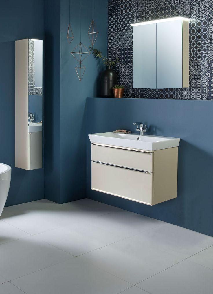 Blue and beige Roper Rhodes bathroom