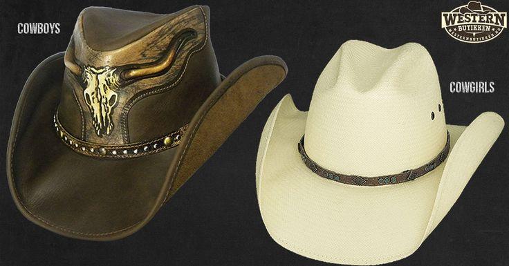 Ta av våre mest populære cowboyhatter. Du finner de her: http://westernbutikken.no/cowboyhatter