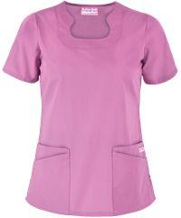 UA Butter-Soft STRETCH Scrubs Scallop Neck Top, Style #  BSS674 #scrubs, #fashion, #tutu lilac, #nurses