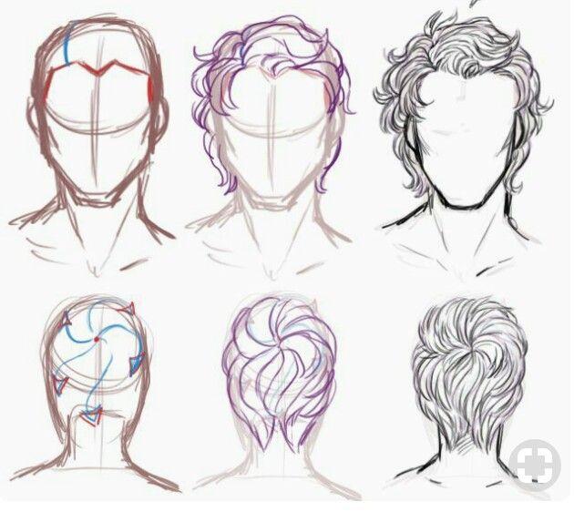 Pin By Mayana Dimitrova On Art Short Hair Drawing Guy Drawing Hair Sketch