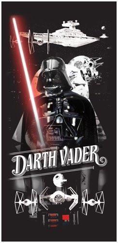 Star Wars Darth Vader Head Beach Towel - Black