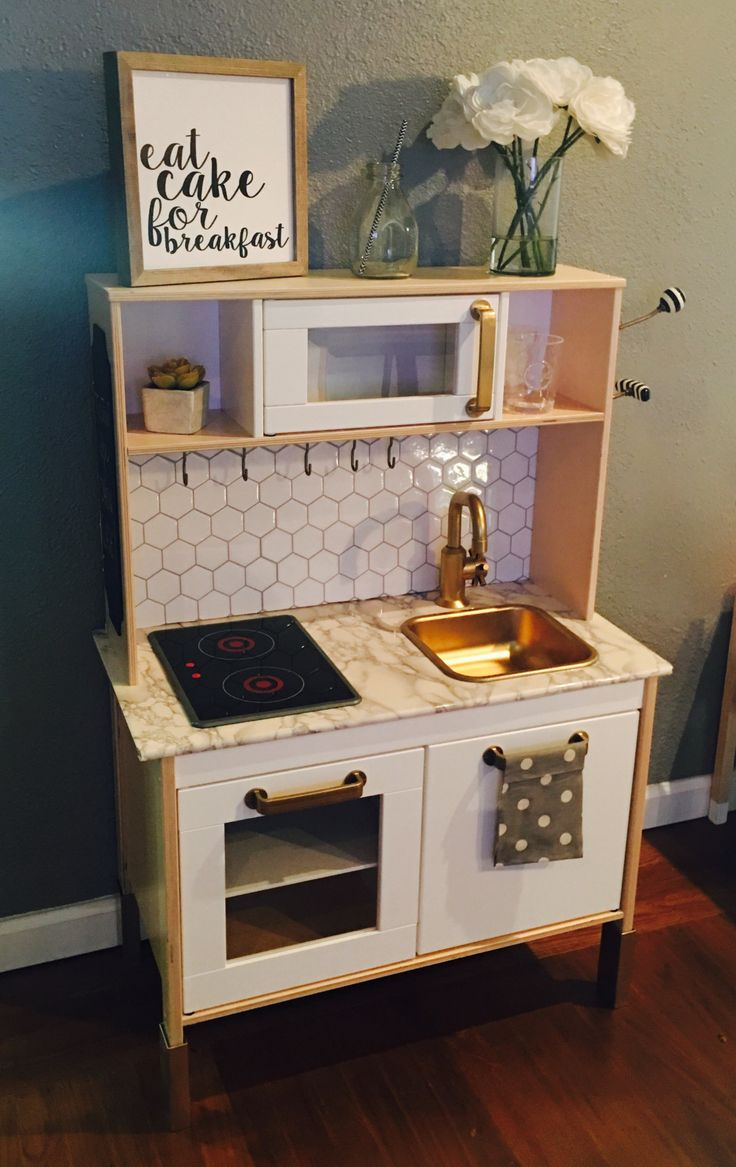 Ikea Play Kitchen Hack Ikea play kitchen, Ikea kids