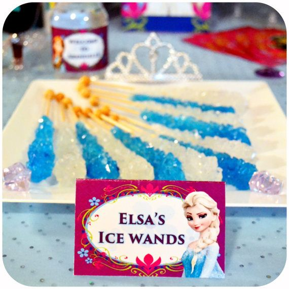 25+ Unique Disney Frozen Birthday Ideas On Pinterest