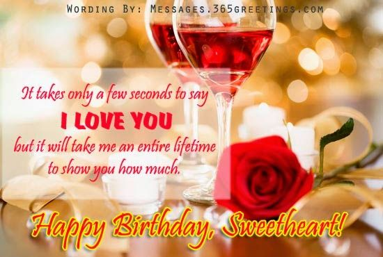 Happy Birthday Wishes For Girlfriend In English Wishing