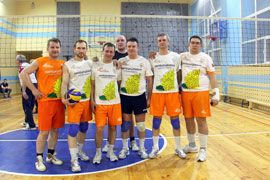 Волейболисты «Липецкцемента» третьи в городской спартакиаде. Евроцемент