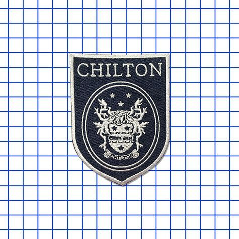 Hey, I found this really awesome Etsy listing at https://www.etsy.com/listing/277638208/chilton-iron-on-patch-high-school-badge