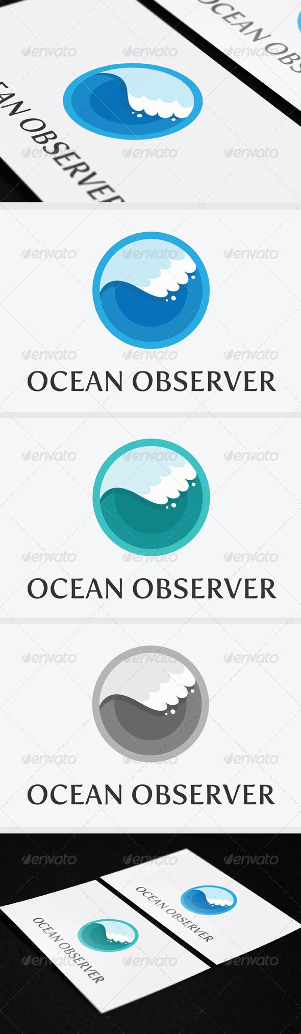 Ocean Observer Logo Template  #GraphicRiver         Ocean Observer Logo Template, an excellent logo template suitable for any business. 100% vector easy to change color, text and resize (AI & EPS). The free font used in the design is Fertigo Pro Regular: exljbris /fertigo.html.     Created: 15December12 GraphicsFilesIncluded: VectorEPS #AIIllustrator Layered: Yes MinimumAdobeCSVersion: CS3 Resolution: Resizable Tags: animal #biology #blue