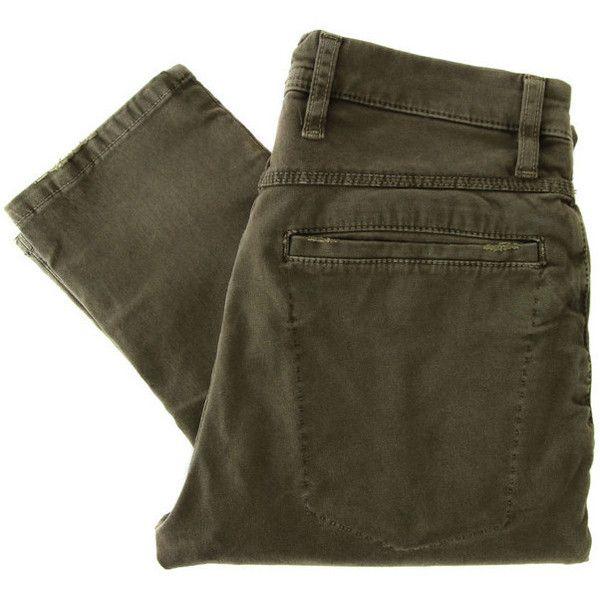 Nudiekhaki Tight-120011 Skinny Deep Soil Jeans ($88) ❤ liked on Polyvore