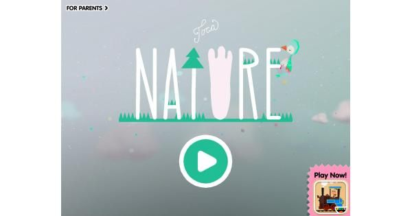 Toca Nature - App Review | Kid apps | App, Nature, Common