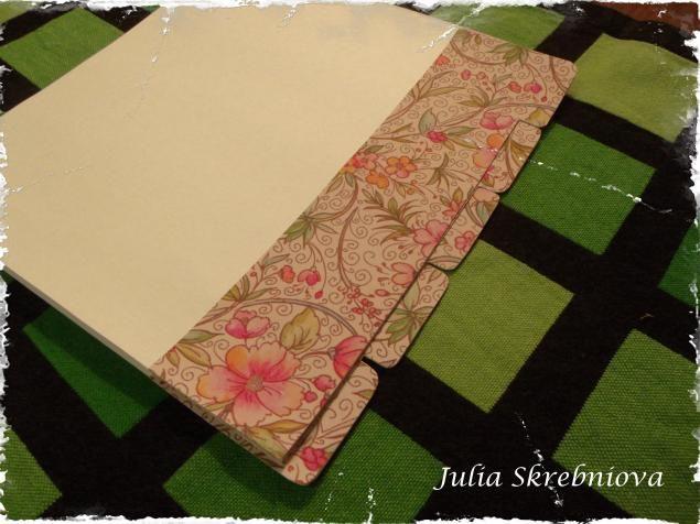 Мастер-класс: Блокнот (Кулинарная книга) с нуля. Часть 1. Сшивание блока (переплет) и формирование р - Ярмарка Мастеров - ручная работа, handmade