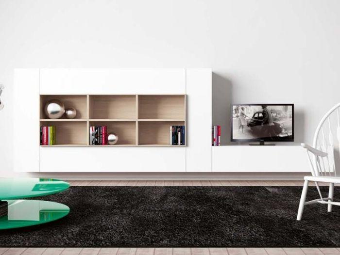 Die Weiße Wohnwand In Hochglanz U2013 Ein Lifestyle Möbelstück | Möbel Ideen |  Pinterest